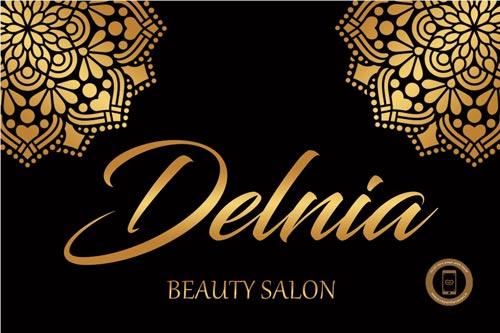 نمایشگر جیبی سالن زیبایی دلنیا